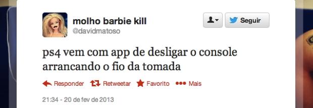 @davidmatoso (Foto: Reprodução/Twitter)