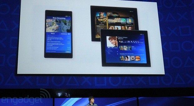 O PlayStation App vai integrar smartphones e tablets ao PS4 (Foto: Reprodução / Engadget)