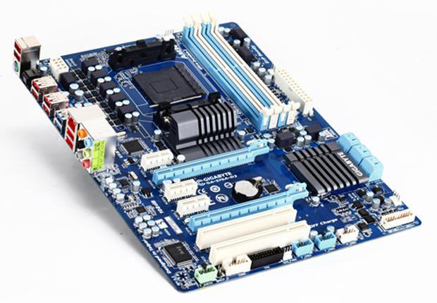 Placa mãe GA-970A-D3 comporta processadores de última geração (Foto: Divulgação)