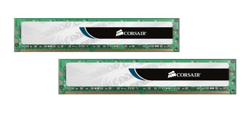 Memórias Corsair GDDR3 dois módulos com 4GB cada (Foto: Divulgação)