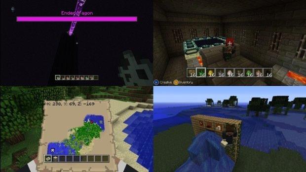 Ender Dragon e End Portal chegarão na atualização 9 de Minecraft: Xbox 360 Edition (Foto: VG247)