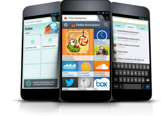 Primeira leva de apps para o Firefox OS é apresentado no MWC 2013 (Foto: Divulgação)