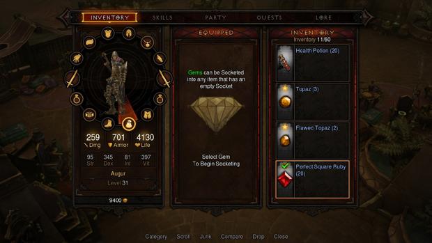 Nova interface de Diablo 3 deverá deixar as coisas mais dinâmicas nos consoles (Foto: Divulgação)