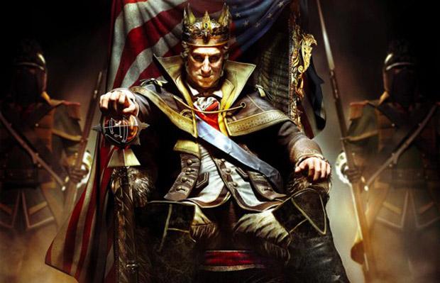 George Washington é figura central na edição completa de Assassin's Creed 3 (Foto: Divulgação)