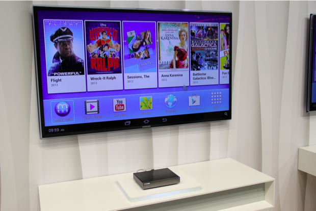 Homesync é a nova aposta da Samsung para concorrer com Google TV e Apple TV (Foto: TechTudo/Fabrício Vitorino)
