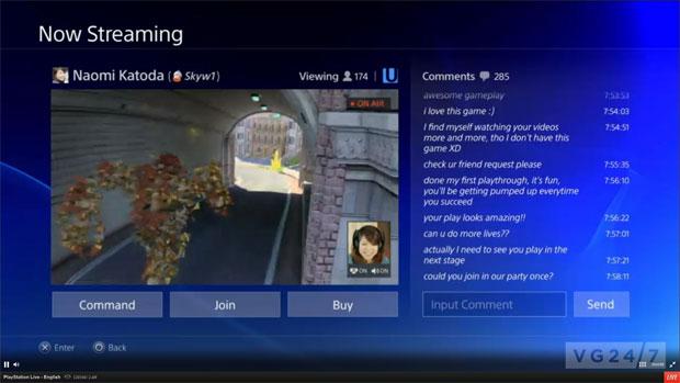 Você vai poder transmitir seus jogos na rede do PS4 (Foto: Reprodução/VG247)