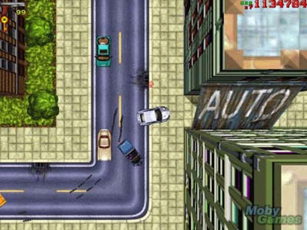 GTA tinha gráficos simples, mas agradava (Foto: Reprodução/MobyGames)