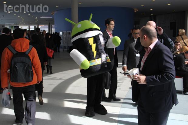 A MWC apresenta grandes novidades do mundo de smartphones, tablets e outros eletrônicos (Foto: Fabrício Vitorino/TechTudo)