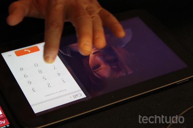 Sistema exige que tablets tenham suporte a multitoque (Foto: Allan Melo/TechTudo)