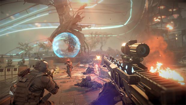 Killzone: Shadow Fall roda em resolução de 1080p a 30 quadros por segundo (Foto: bloody-disgusting.com)