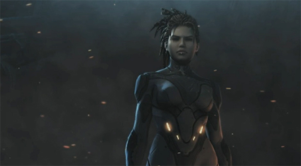Sarah Kerrigan volta para se vingar em StarCraft 2 (Foto: Reprodução)