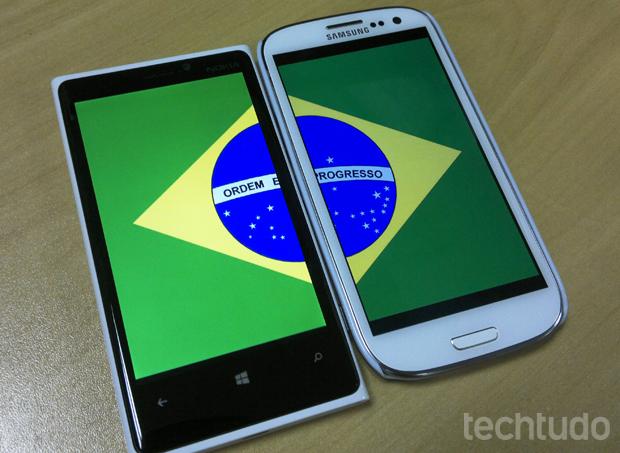 Nokia e Samsung trouxeram novos aparelhos para o Brasil (Foto: Elson de Souza/Techtudo)