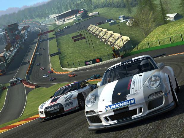 Real Racing 3 impressiona pelos gráficos (Foto: Divulgação)