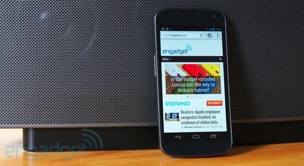 Chrome para Android ganhou update nesta semana (Foto: Reprodução/Engadget)