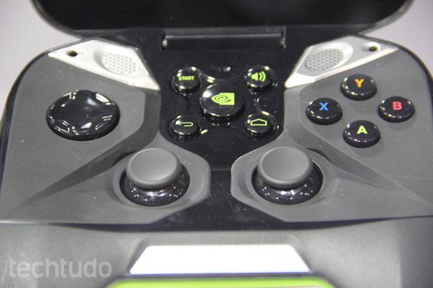 O console apresentou melhorias em relação ao que foi mostrado na CES (Foto: Fabrício Vitorino/TechTudo)