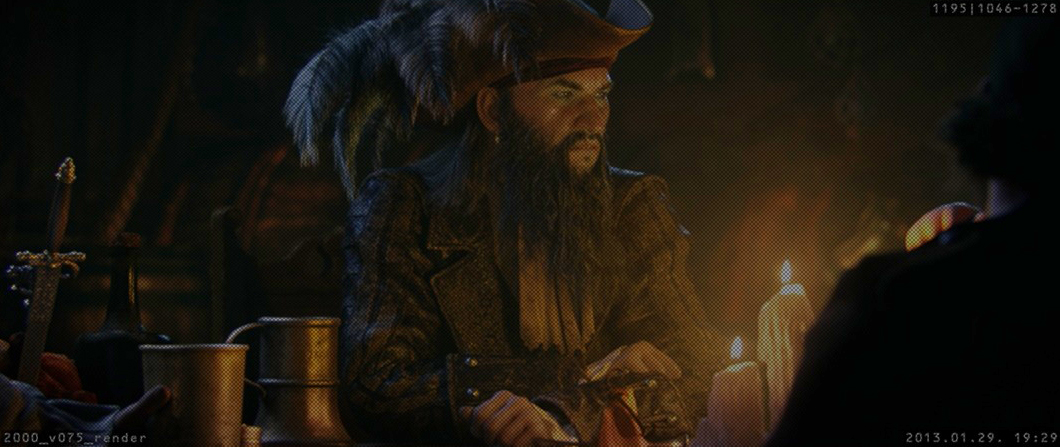 Nova imagem de Assassin's Creed 4: será um vilão do jogo? (Foto: Divulgação)