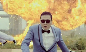 'Gangnam style' é primeiro vídeo a ter 1 bilhão de acessos no YouTube (Foto: Reprodução/YouTube)