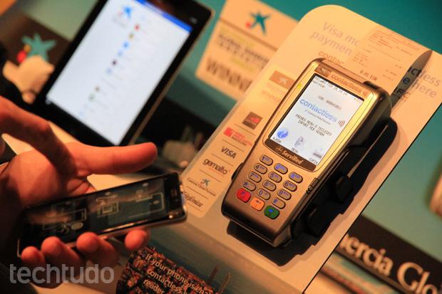 Novo sistema da Visa oferece pagamentos via smartphone (Foto: Allan Melo/TechTudo)