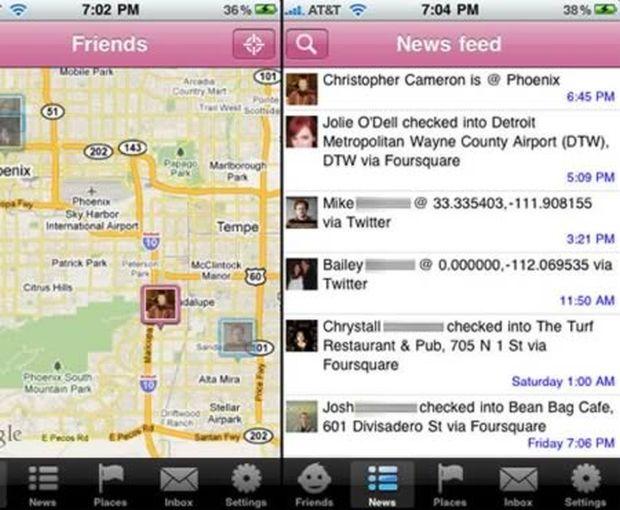 Stalqr permite que você persiga seus contatos em redes sociais (Reprodução|Oddee)