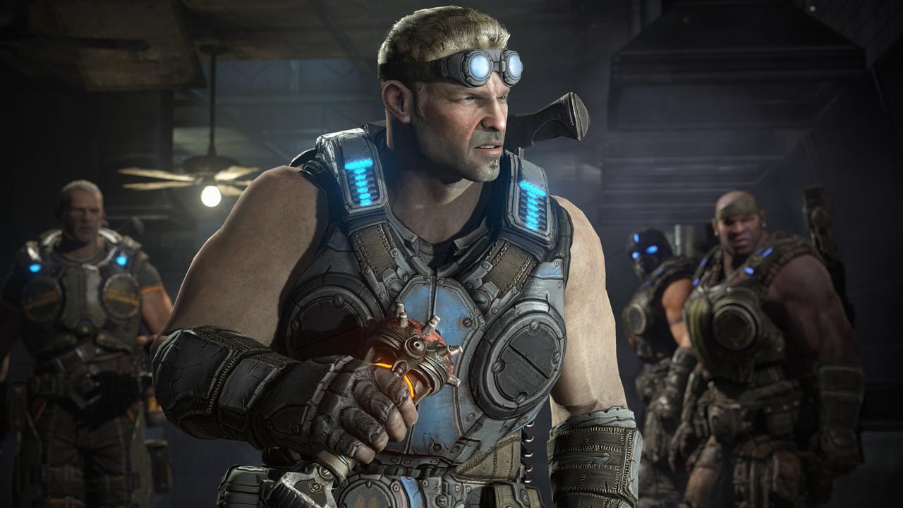 Baird lidera nas novas imagens de Gears of War: Judgment (Foto: Divulgação)