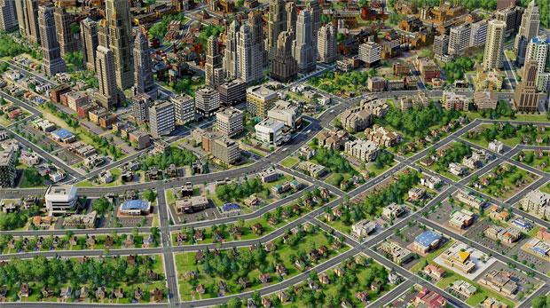 Transforme sua cidade em uma metrópole em SimCity (Foto: Divulgação)