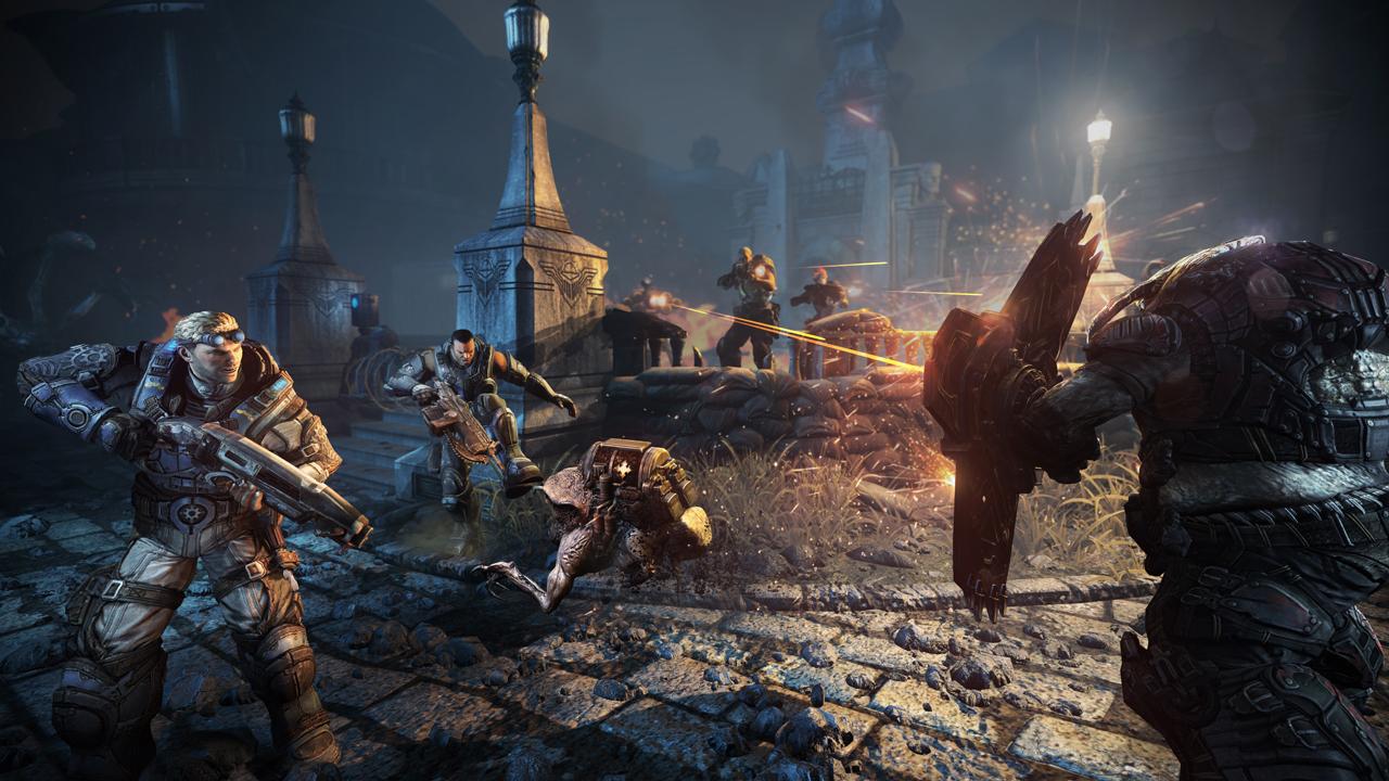 Uma das batalhas de Gears of War: Judgment (Foto: Divulgação)