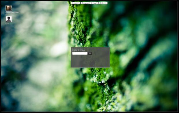Usuários poderão aplicar temas feitos em HTML5 para a tela de login do Mint 15 (Foto: Divulgação)