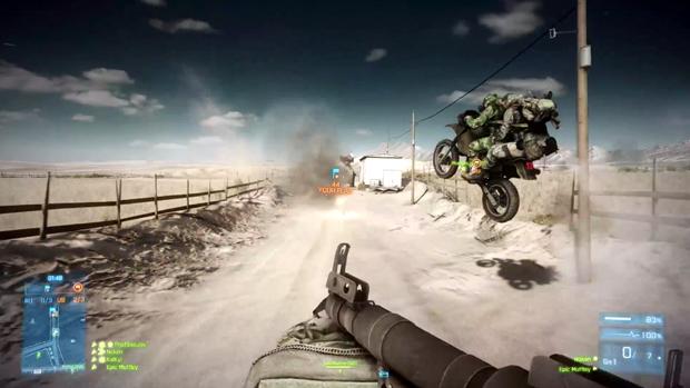 Entre as novidades de End Game estão as motos com espaço para dois jogadores (Foto: Divulgação)