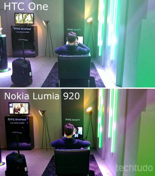 HTC One tem tecnologia ultrapixels, mas câmera ainda é inferior ao do Nokia Lumia 920 (Foto: Allan Melo/TechTudo)
