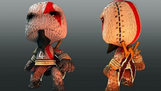 Sackboy acabou encarnando Kratos muito bem (Foto: rupark.com)