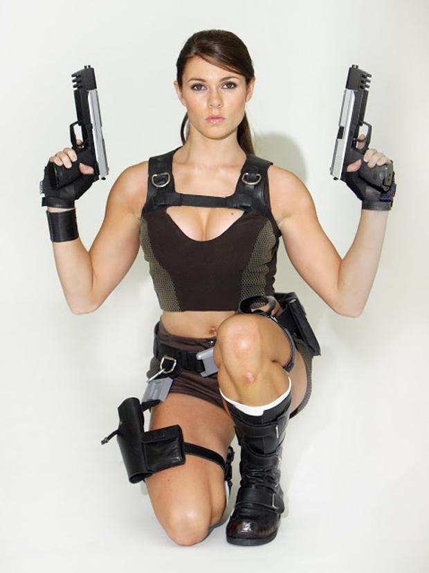 Alison Carrol foi a modelo oficial de Lara Croft por 2 anos (Foto: Guitarse Gaming)