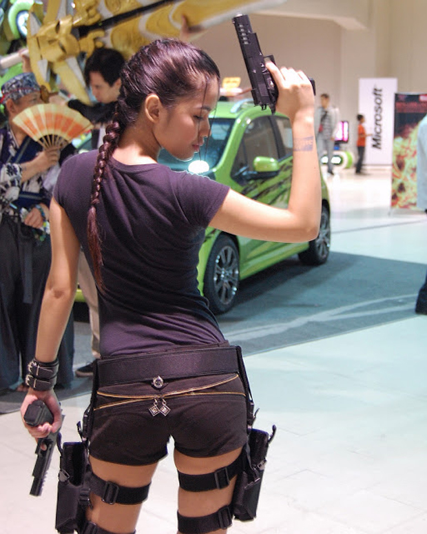A Cosplayer Shindlex aparece em foto de Christine Deschamps (Foto: Guitarse Gaming)