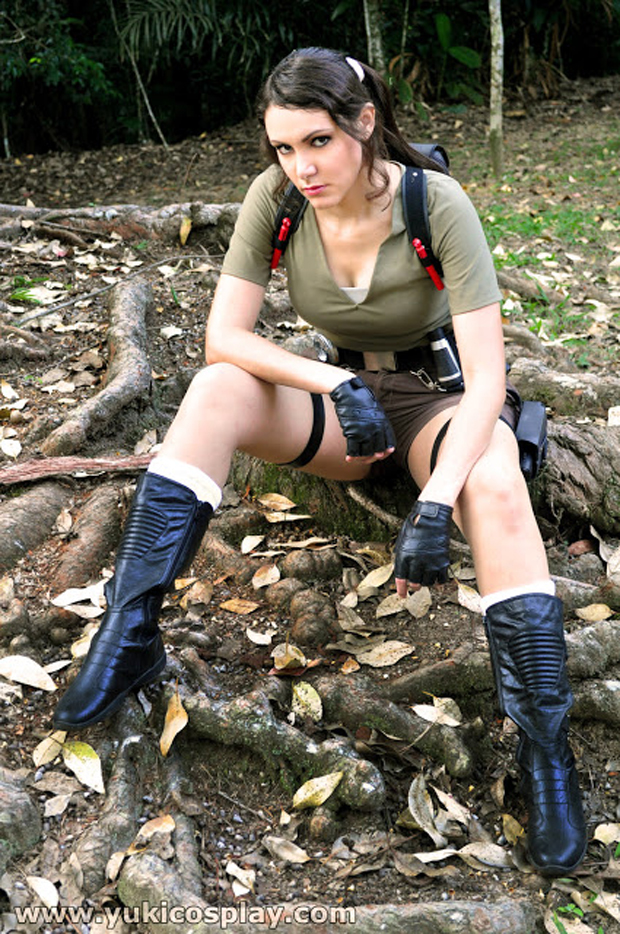 """A brasileira Thaís """"Yuki"""" Jussim representa o país com versão série da heroína (Foto: Guitarse Gaming)"""