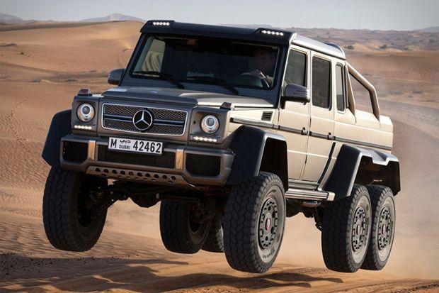 Mercedes aposta num modelo off-road (Foto: Reprodução/Technabob)