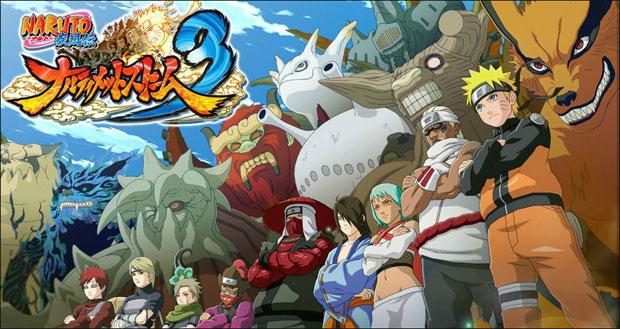 Diversos personagens aguardam os jogadores em Naruto Ultimate Ninja 3 (Foto: Divulgação)