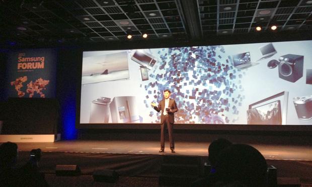 Samsung apresentou seu porftólio de produtos para a América Latina em 2013 (Foto: Nick Ellis/TechTudo)