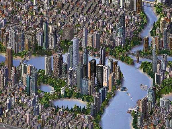 SimCity 4 trazia gráficos 3D, mas manteve visão isométrica (Créditos: Divulgação)