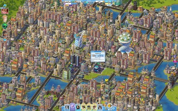 SimCity Social permite trocar recursos com amigos do Facebook (Crédito: Divulgação)