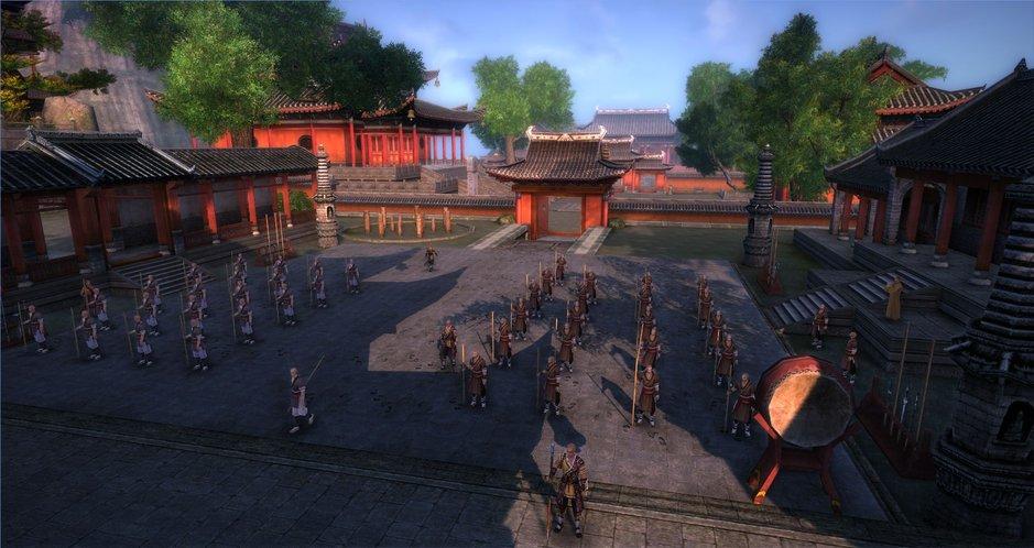 Age of Wushu promete um belo mundo para explorar e lutar (Foto: Divulgação)