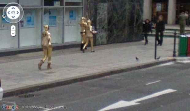 C-3POs no Street View (Reprodução|BuzzFeed)