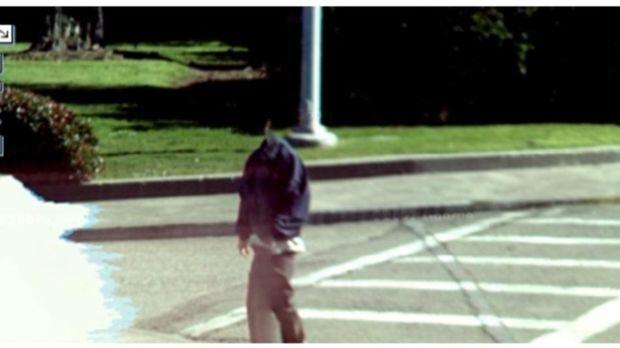 Homem sem cabeça no Google Street View (Reprodução|BuzzFeed)