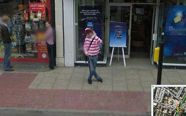 Wally no Street View (Reprodução|BuzzFeed)