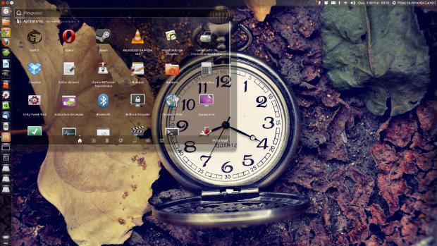 Interface do Ubuntu terá programação unificada para várias plataformas (Foto: Reprodução/Filipe Garrett)