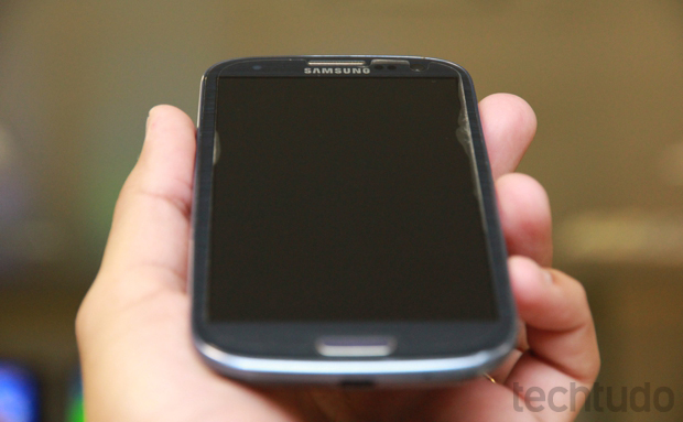 Samsung Galaxy S3 (Foto: Allan Melo / TechTudo)