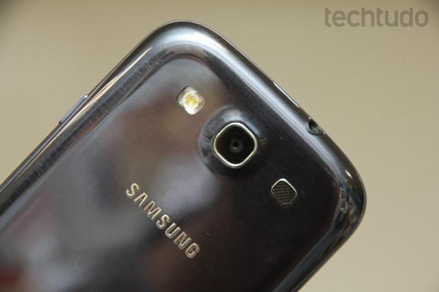 Câmera do Samsung Galaxy S3 (Foto: Allan Melo / TechTudo)