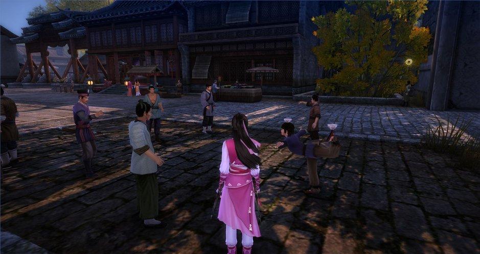 Há muito o que fazer em Age of Wushu (Foto: Divulgação)