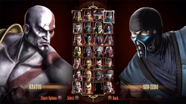 Kratos em Mortal Kombat (Foto: Divulgação)