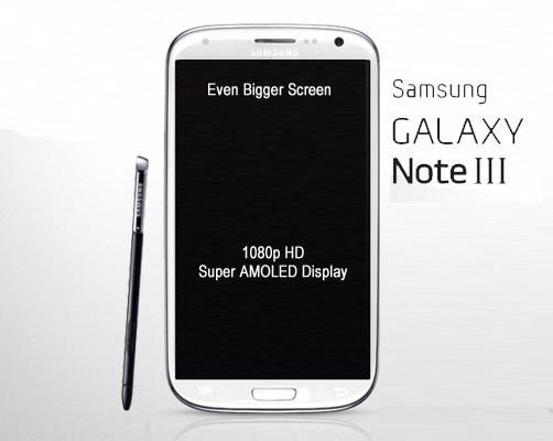 Samsung já trabalha no Galaxy Note 3 e ele virá ainda maior: 5,9  polegadas (Foto: Reprodução/AndroidPit)