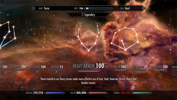 Agora suas Skills podem ir até o nível 100 e reiniciarem para uma nova evolução (Foto: bethblog.com)