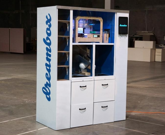 Dreambox pode ser utilizada para imprimir de tudo em 3D (Foto: Reprodução Dvice)